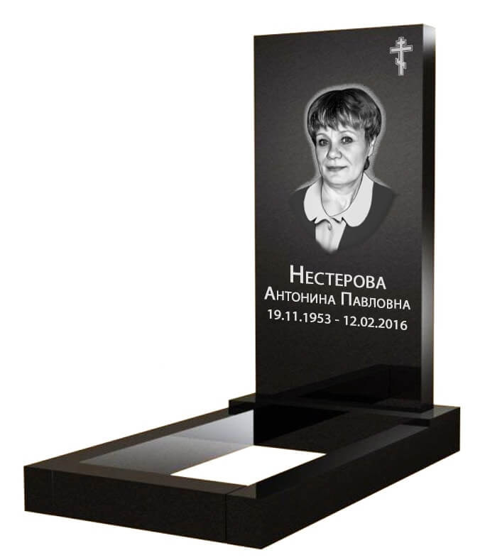 Прямоугольный вертикальный памятник Волгодонск Прямоугольный вертикальный памятник Сибай